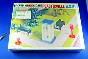 Plasticville - O-O27 - #1918 Park Assortment - COMPLETE - Sealed Box - EXCELLENT