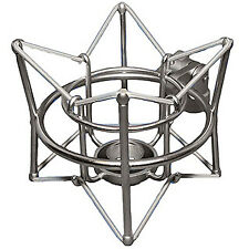 ADK S-Super Mount shockmount for A51,Vienna,Hamburg,A6,Thor,Odin. Satin Silver.