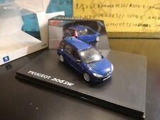 1/43 Norev Peugeot 206 SW break estate wagon 2002 blu met blue bleu blau  PROMO