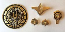 Battlestar Galactica Deluxe ADM Rank Pins, Sr. Officer Wings, Dress Pin & Patch