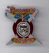 NYC Disney New York City Big Apple Pirates of the Caribbean Event LE Pin & Card