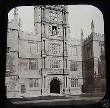 GWW Glass Magic lantern slide OLD EXAM SCHOOLS C1890 OXFORD L6