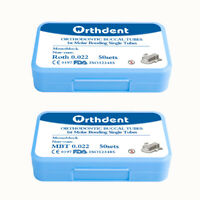 50 Sets Dental Orthodontic Buccal Tubes MBT ROTH 022 1st Molar Monoblock SEATO