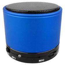 WIRELESS BLUETOOTH MINI PORTABLE SPEAKER FOR IPHONE IPAD MP3 TABLET PHONE BLUE