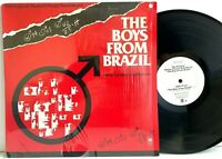 The Boys From Brazil - PROMO Film Soundtrack (in-shrink) LP Vinyl Record Album