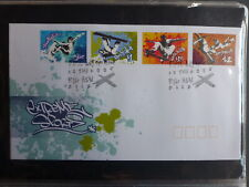 2006 AUSTRALIA EXTREME SPORTS SET 4 STAMPS FDC FIRST DAY COVER