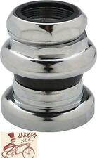 """TANGE PASSAGE 1"""" THREADED 27.0 CROWN RACE CHROME BMX-MTB-ROAD BICYCLE HEADSET"""