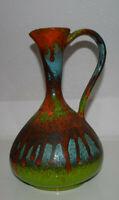 Design Keramik Vase 70s  60s WGP Vintage Italy Studiokeramik MCM Popart
