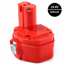 Powayup 14.4V 3.0Ah pour Makita Batterie Ni-MH PA14 1420 1422 1433 1434 435 1435