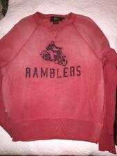 Vintage RRL by Ralph Lauren Ramblers Motorcycle Sweatshirt