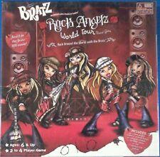 BRATZ Board Game Rock Angelz Angels World Tour Doll TV Show Cartoon Music Band
