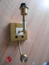 Chelsom Wall light with LED arm brass colour (ZZ/13129/W1/LED/SB), new and boxed