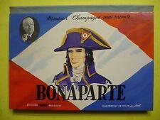 1958 LIVRE POP-UP RELIEF : BONAPARTE  Napoléon, raconté par Monsieur Champagne
