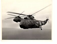 Sikorsky SH3 Sea King HS7 Navy Helicopter Official Photo 8x10 USS Randolph CV15
