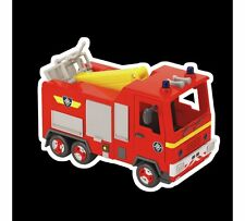 Fireman Sam Jupiter Fire Engine Figure Raise The Crane Arm With Rescue Platform