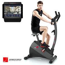 Premium SPORTSTECH ESX500 Ergometer mit Smartphone APP/ Fitness Bike Heimtrainer