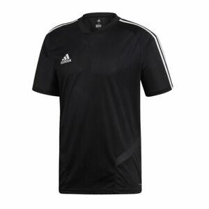 Mens Adidas Tiro 21 Tiro 19 Jersey Soccer T-shirt Short Sleeve Training Top NEW