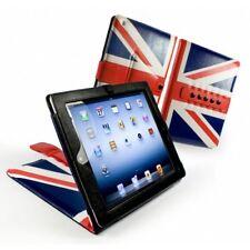 Tuff-Luv MultiView UK Flagge Union Jack Tasche Etui Hülle Blau für Apple iPad 4