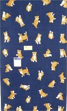 Japanese Towel Tenugui Mameshiba Dog Tapestry/Headband Cotton/ Made in Japan