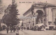 UN SALUTO DA LUINO  1912