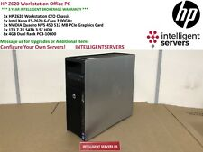 HP Z620 Workstation Xeon E5-2620 2.00GHz 32GB DDR3 1TB SATA HDD Quadro NVS 450