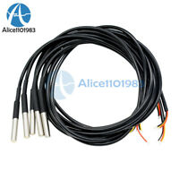 5PCS Waterproof Digital Thermal Probe or Sensor DS18B20 DS18S20  Arduino Sensor