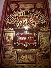 JULES VERNE KERABAN LE TETU HETZEL E.O JOLI CARTONNAGE VOYAGE ORIENT LIVRE BOOK