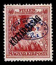 1919 HUNGARY #2NB6 ROMANIAN OCCUPATION  - OGH - VF - CV $32.50 (ESP#9895)