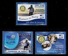 ECUADOR   SCOTT# 1732-1734  MNH  ROTARY INTERNATIONAL