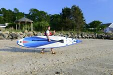 Sea Eagle 14' NN wave piercing bow Inflatable SUP Paddleboarding Start up Pkg.