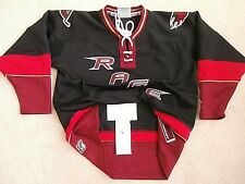 RAGE ZEPHYR BLACK MINORS HOCKEY JERSEY REGULAR SEASON BOYS SMALL FIGHT STRAP