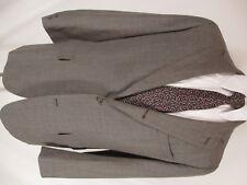 Brooks Brothers 346 Vintage Grey Glen Check 3 Btn Sack Suit 43L