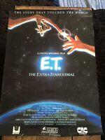 E.T Steven Spielberg Film Poster 1982