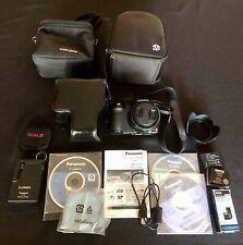 Panasonic Dmc Fz 200 Digital Camera- Case, Accessories, Battery Packs Etc. Vg