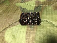 Ashau Valley Vietnam Text Hat Pin
