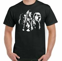 Pink Floyd T-Shirt Montage Mens Music Roger Waters Dave Gilmour Vinyl Guitar