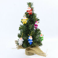 Christmas Trees Desk Table Decor Mini Gift Xmas Decoration Small Pine Tree WQHN