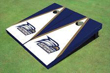 Georgia Southern University Head Logo White And Blue Matching Triangle Custom Co