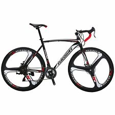 700C Road Racing Bike 21 Gears Complete Bicycle 3 Spoke Wheels 54cm Cycling