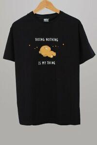 Milk Mocha Bear - Doing Nothing Unisex T-Shirt [Black XS S M L XL XXL] NEW