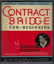 Contract Bridge for Beginners  Josephine Culbertson 1938