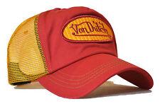 VON van DUTCH MESH TRUCKER BASE CAP [CLASSIC RED/YELLOW] MÜTZE BASECAP KAPPE HUT