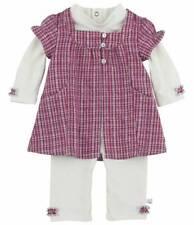 Ensemble Combinaison Robe Blanc Rose à Carreaux  Noukies Noukie's T1 Mois Neuf