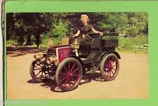 1960s MOBIL TOP PERFORMANCE CAR CARD #1 DURKOPP, 1901