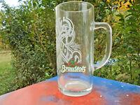 Braustolz Brauerei seit 1868 DDR Bierglas Henkelglas