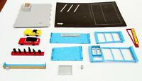 Vintage Plasticville USA Drive-In Hamburger Stand 2916 HO Snap Fit With Box