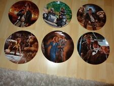 Indiana Jones And The Last Crusade Delphi Collector'S Plates New in Boxes