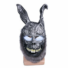 Cosplay Donnie Darko Mask Bunny Rabbit Mask with Fur Horrible Halloween Costume