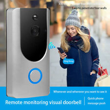 Smart Wireless Ring Doorbell WiFi Visual Camera Video Intercorn for IOS Android