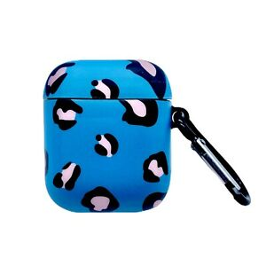 AirPods Case Cheetah Protective Cover f/ Apple 1st & 2nd Generation + Hook Clip